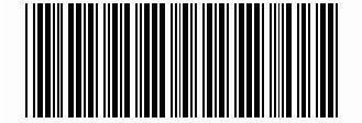 Esempio di codice a barre