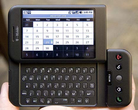 HTC Dream - il primo dispositivo Android