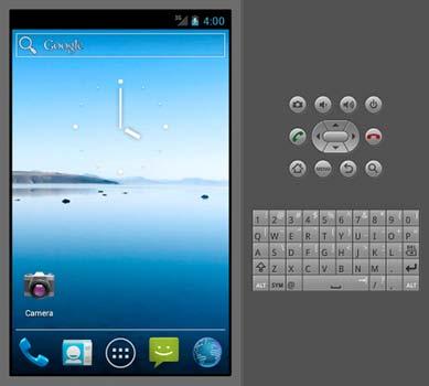 Modello di emulatore Android
