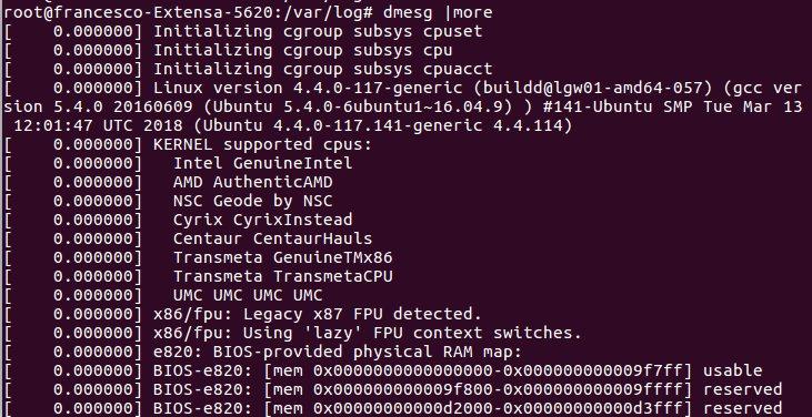 Sicurezza informatica e archiviazione dei log di sistema