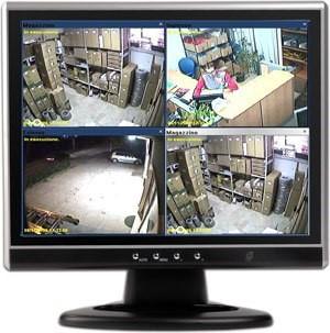 Telecamere di sorveglianza attraverso dei sensori