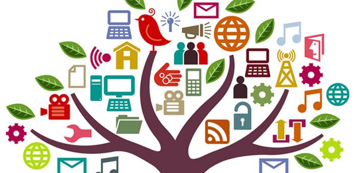 Buonsenso contro l'abuso delle nuove tecnologie nella società moderna - Albero tecnologia