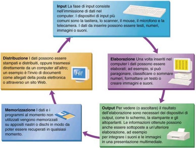 Il Ciclo di Elaborazione dell'Informazione Digitale