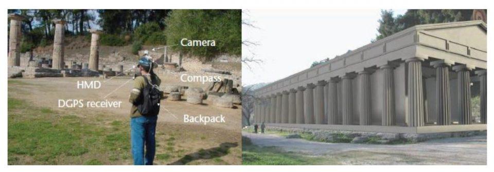 Il sistema Archeoguide e la sua simulazione virtuale