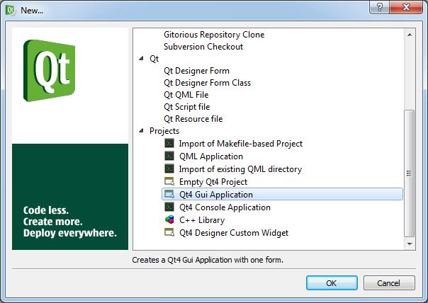 Linguaggio C++ e libreria Qt per lo sviluppo di programmi con interfaccia grafica