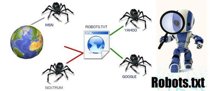 Motori di ricerca e file robots.txt per il controllo degli spider