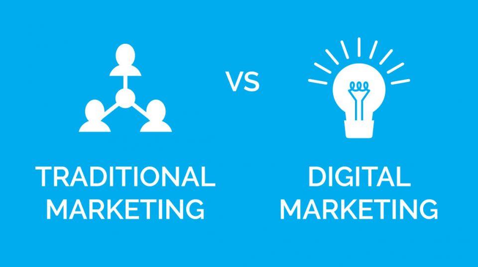 La differenza tra marketing tradizionale e marketing digitale