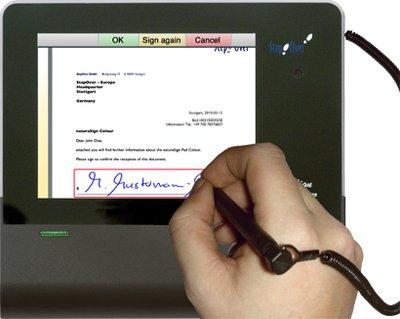 I principali utilizzi applicativi della firma grafometrica