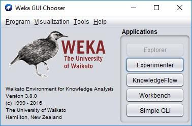 Il software Weka - Apprendimento automatico dei dati