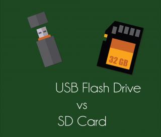 Differenza tra chiavetta usb e memory card in informatica