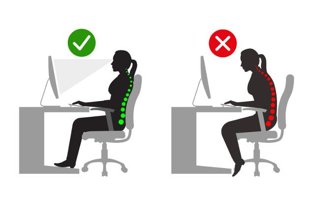 Criteri necessari per rendere una postazione di lavoro ergonomica