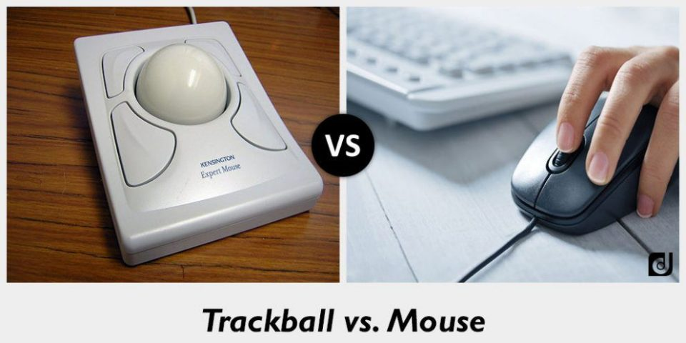 Differenza tra Mouse e Trackball