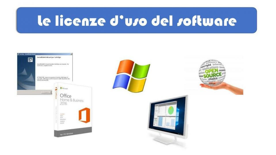 Tipologie delle Licenze software in informatica