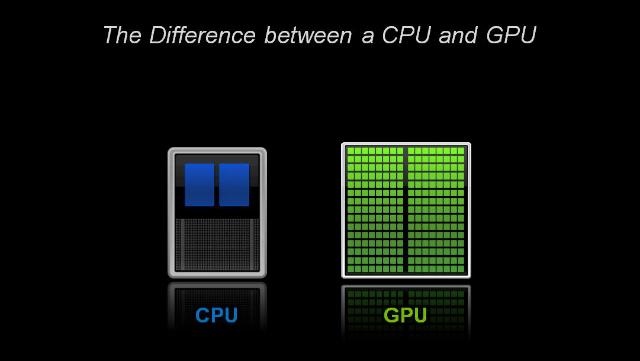Caratteristiche e Differenza tra CPU e GPU in informatica