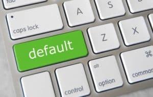 Che cosa significa default in informatica