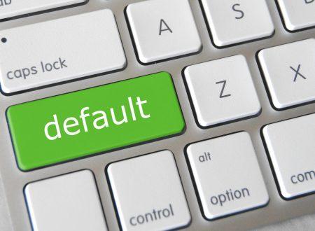 Cosa significa default in informatica