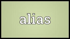 Definizione di Alias in informatica