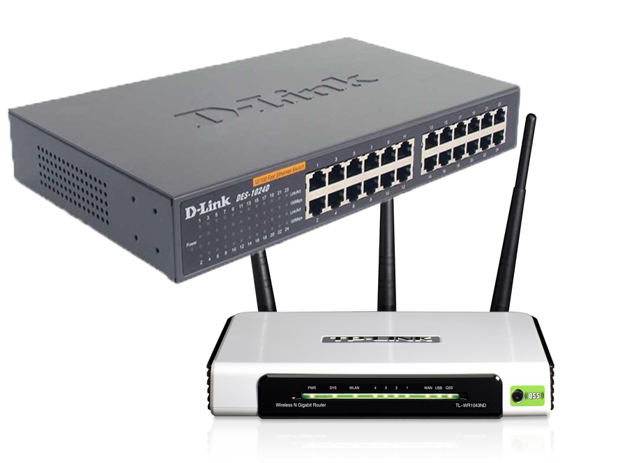 Differenza tra router e switch in informatica