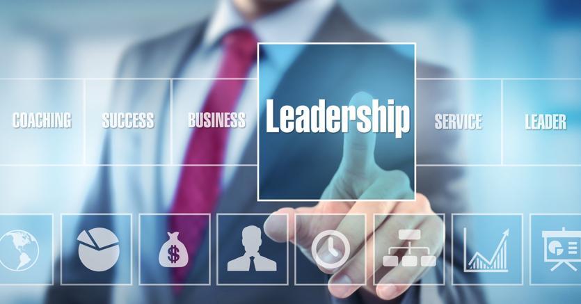 Leader e Team - Interazione del leader con il team in una azienda