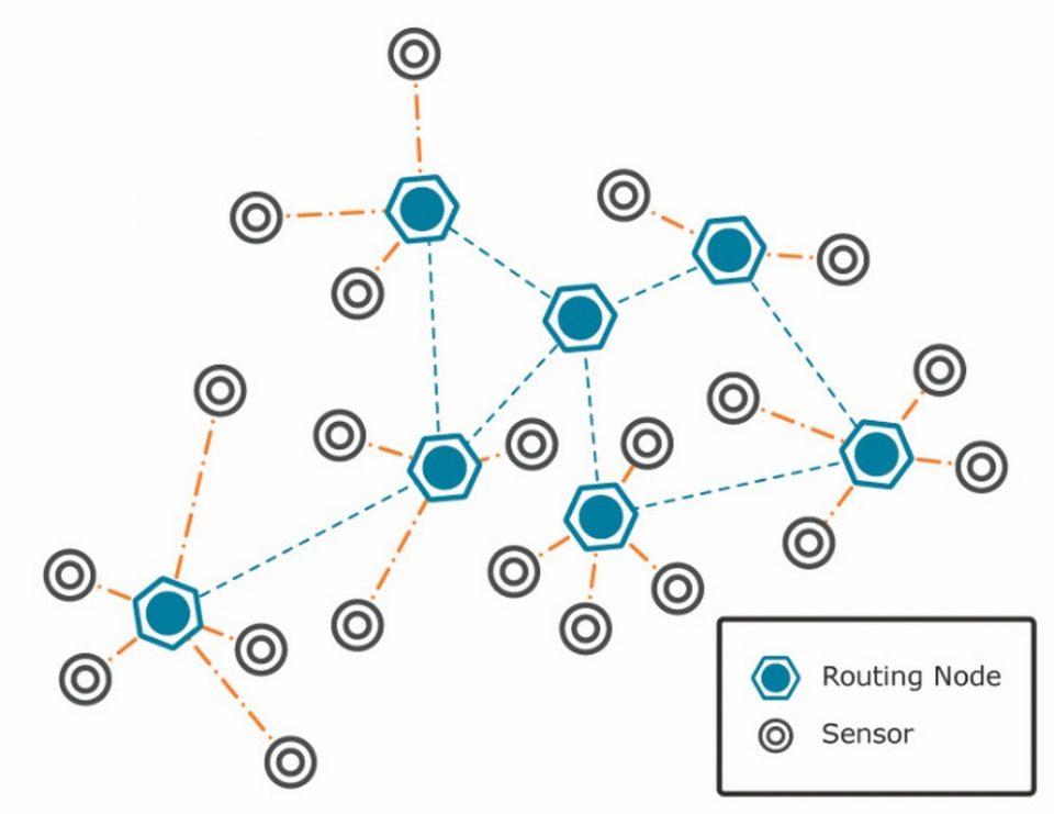 Caratteristiche e come funziona una rete di sensori WSN (Wireless Sensor Network)