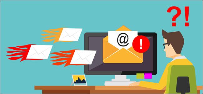 Cosa sono e come avvengono gli attacchi spam per email in informatica
