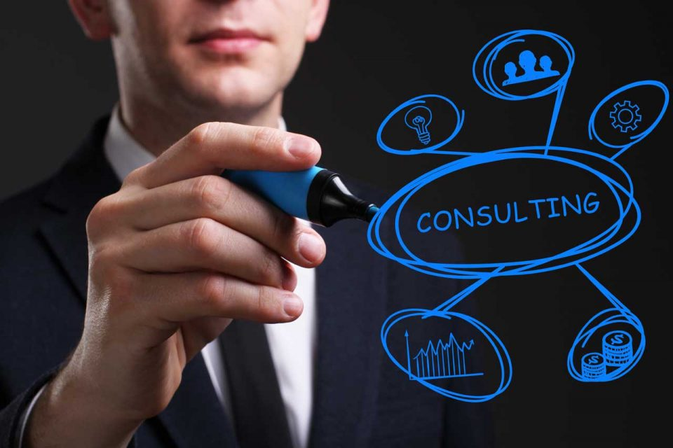 Difference and similarities between a consulting company and a service company
