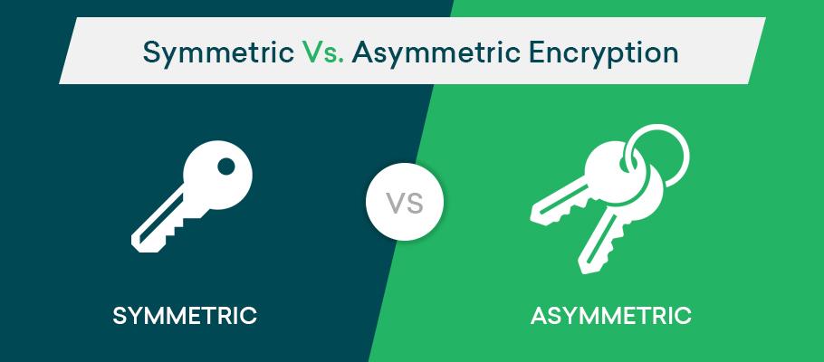 Differenza tra Algoritmi a chiave simmetrica e asimmetrica