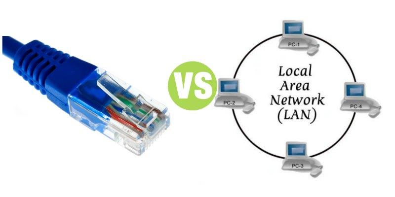 Caratteristiche e Differenza tra LAN e Ethernet