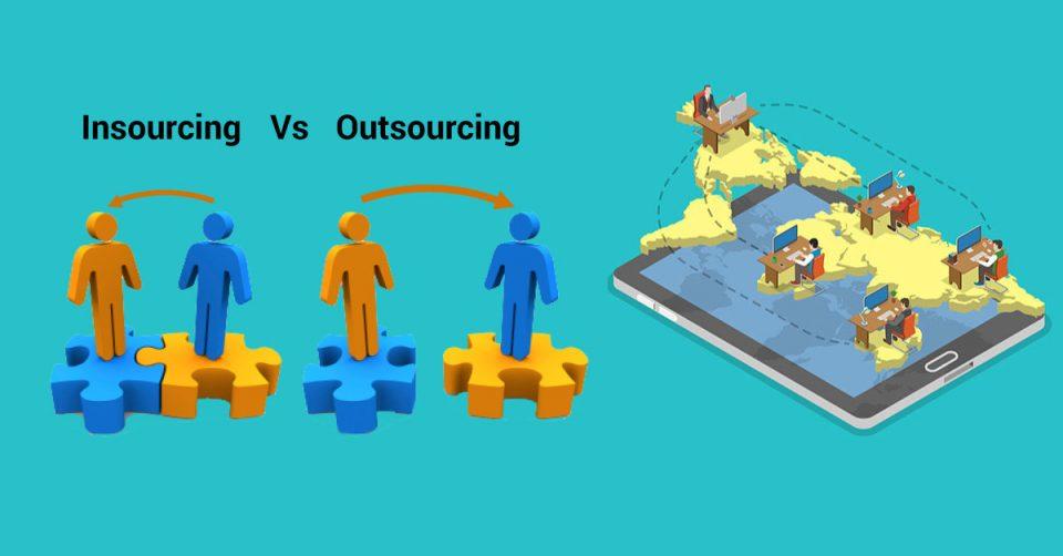 Caratteristiche e Differenza tra Outsourcing e Insourcing