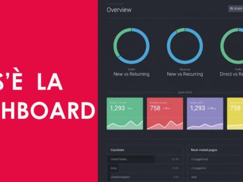 Che cos'è e a cosa serve una Dashboard aziendale