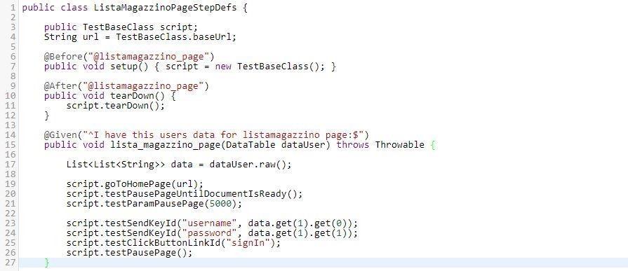 Selenium - Esempio di implementazione del test UI automatizzato