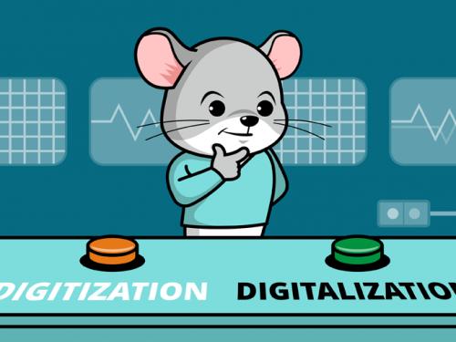 Differenza tra Digitalization e Digitization in informatica