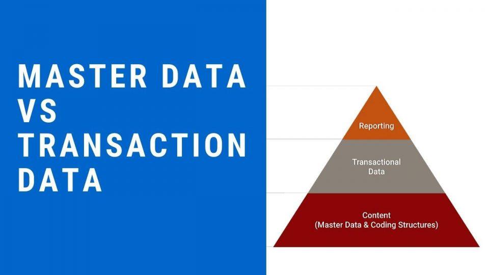 Differenza tra dati master e dati di transazione in informatica