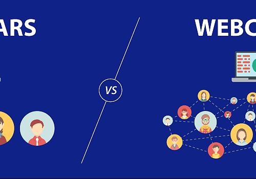 Cosa sono e differenza tra webcast e webinar